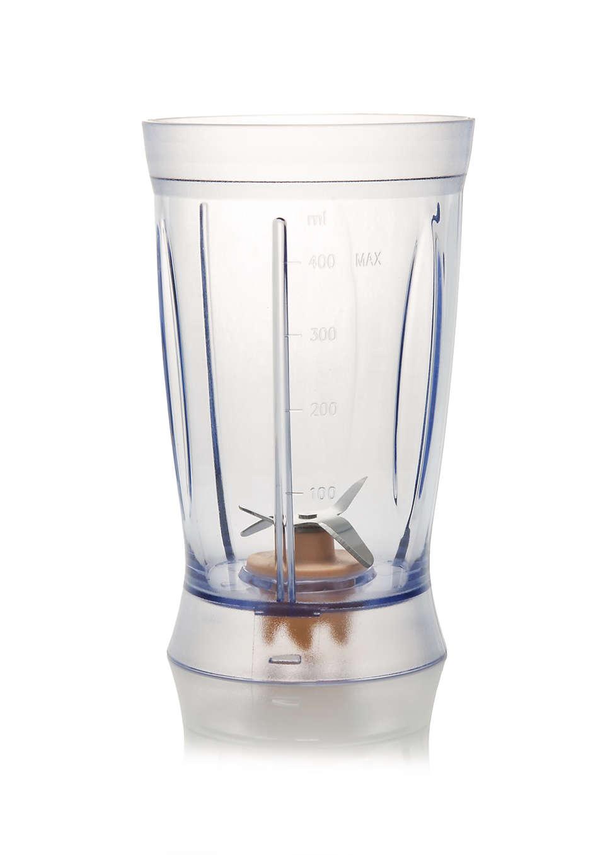 Til udskiftning af det nuværende blenderglas.