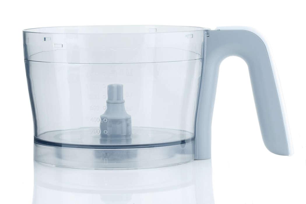 para sustituir el recipiente actual