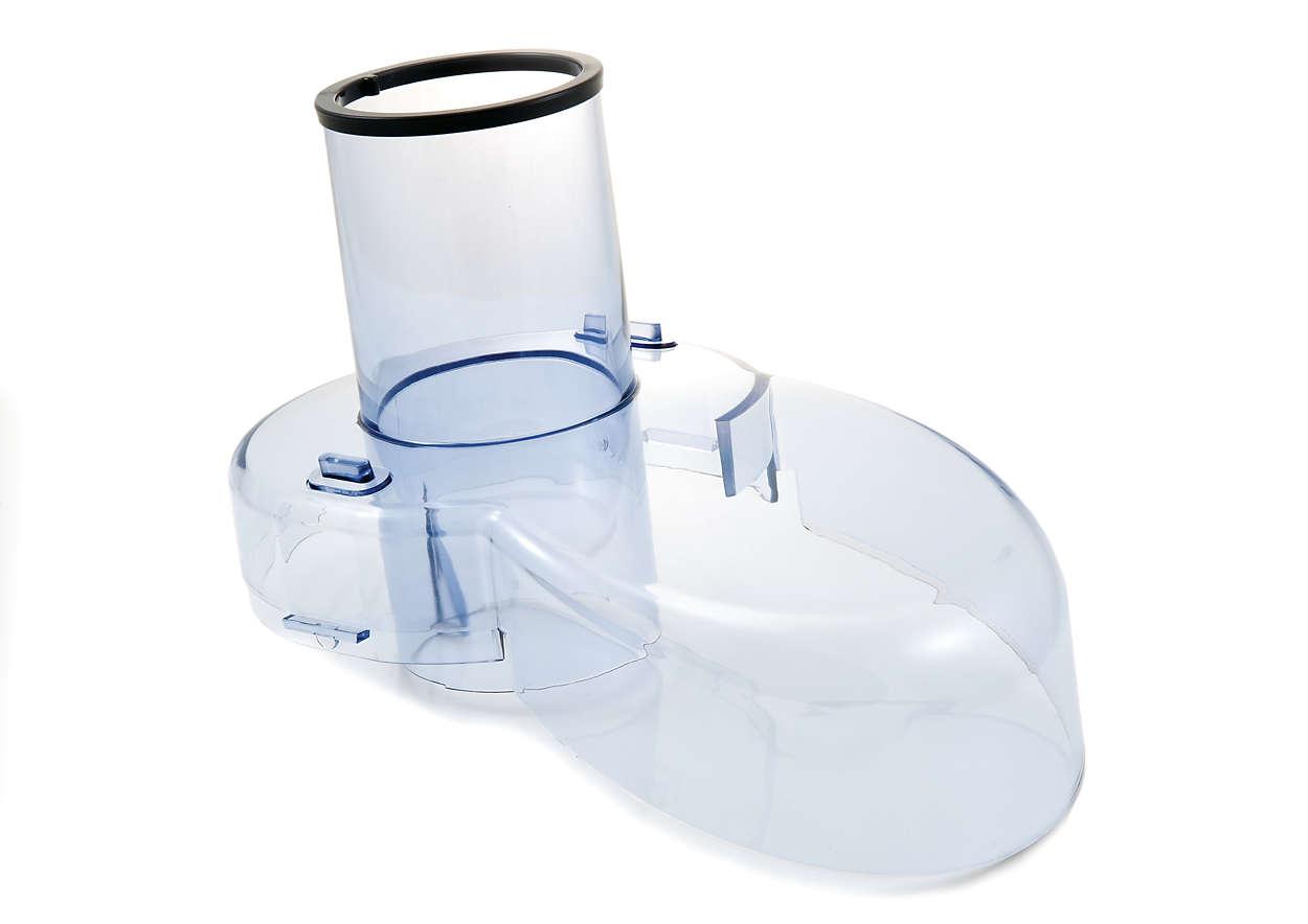 Per sostituire il coperchio della centrifuga in uso