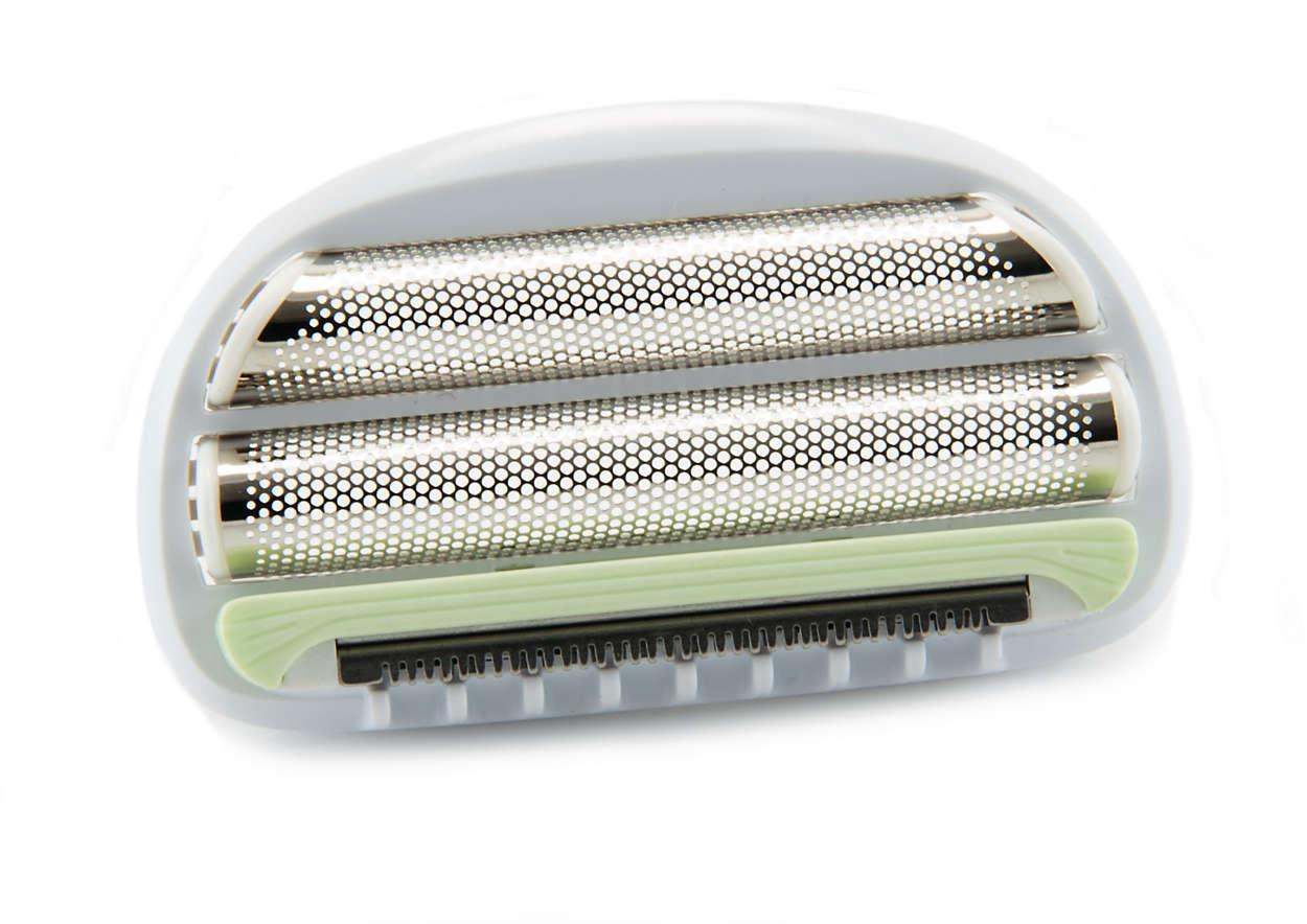 Pour remplacer votre tête de rasage actuelle