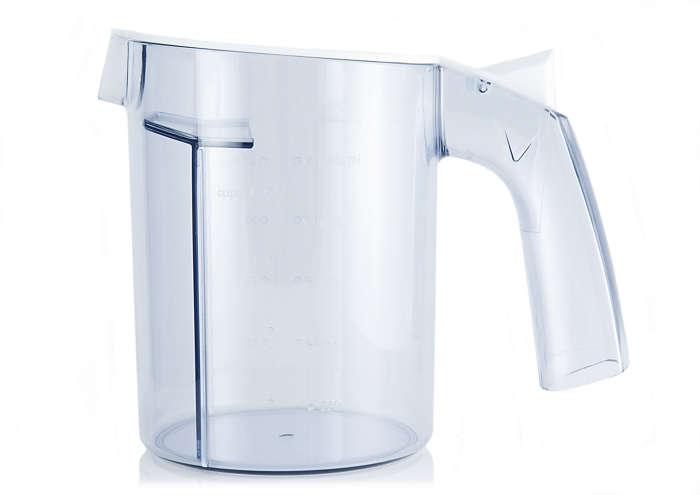 para sustituir la jarra actual