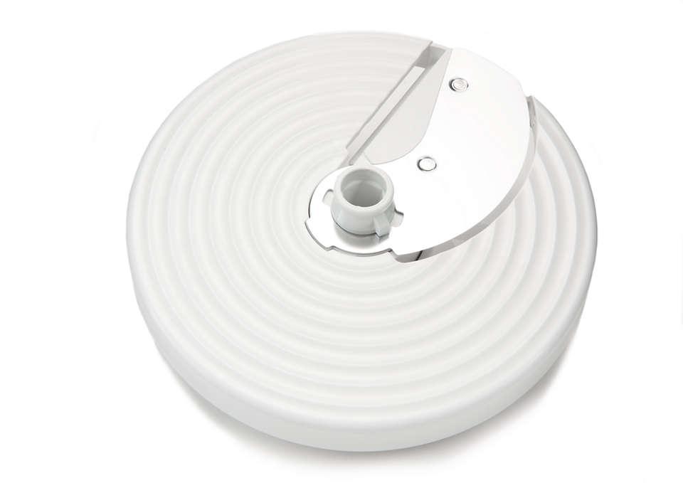 Per sostituire il disco per affettare in uso