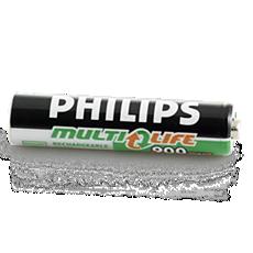 CP9168/01  Oplaadbare batterijen