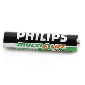 Laddningsbara batterier