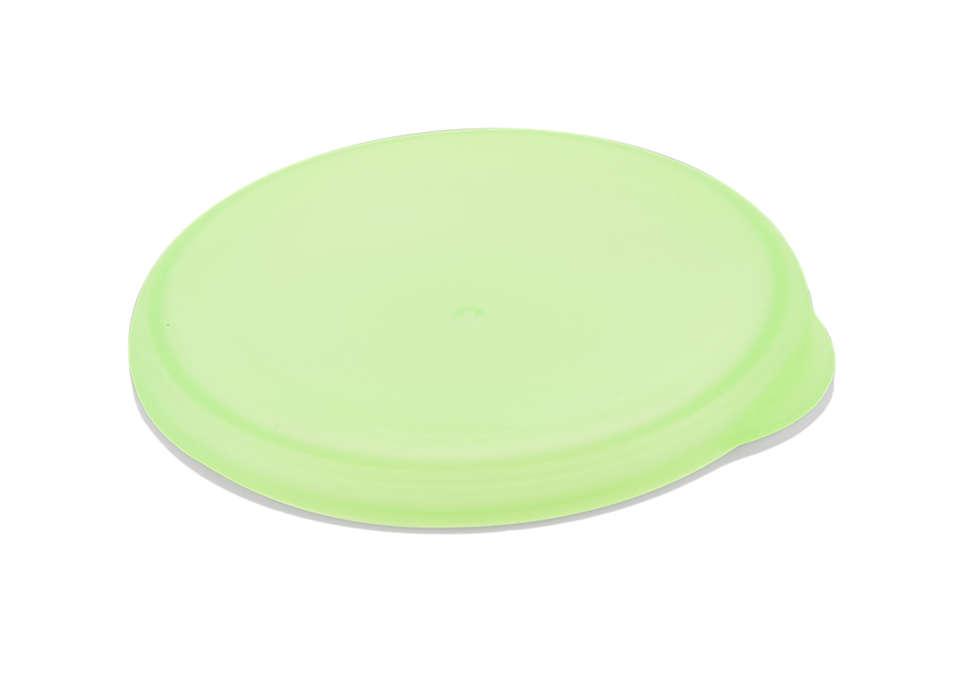 Grüne Kappe für Erwachsenen-Trinklernbecher