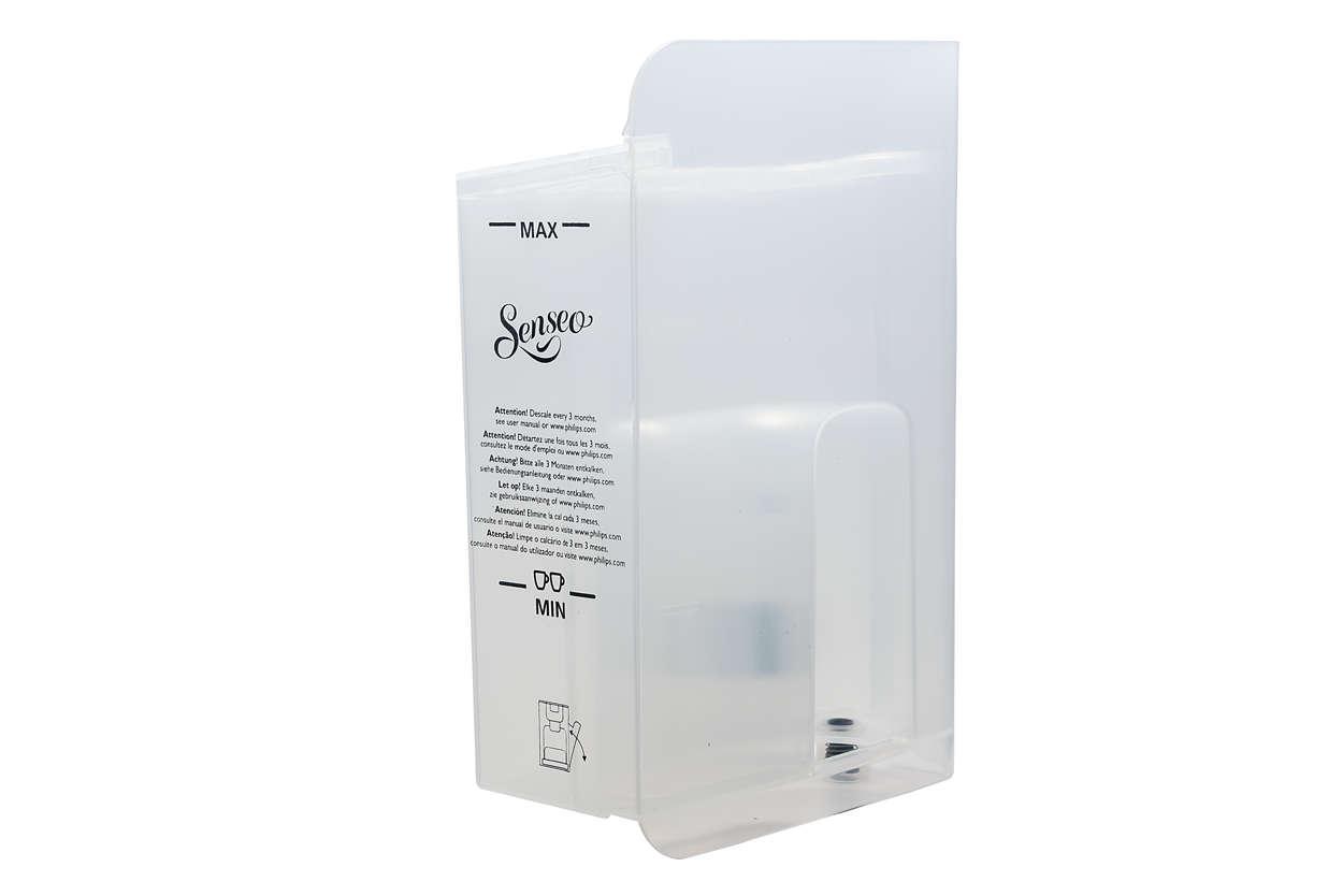 Pour le stockage de l'eau dans votre SENSEO® Quadrante