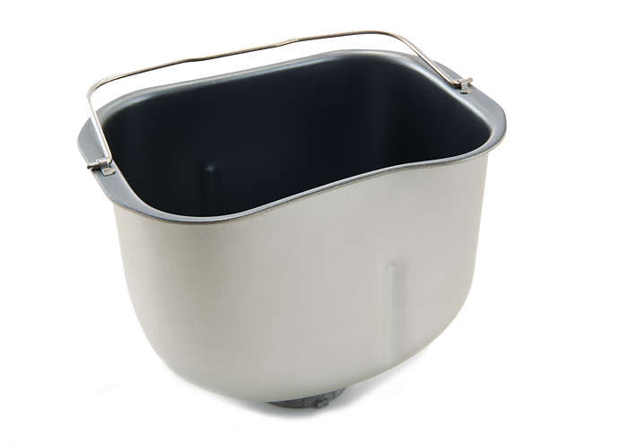 Pan for kneading dough and baking bread