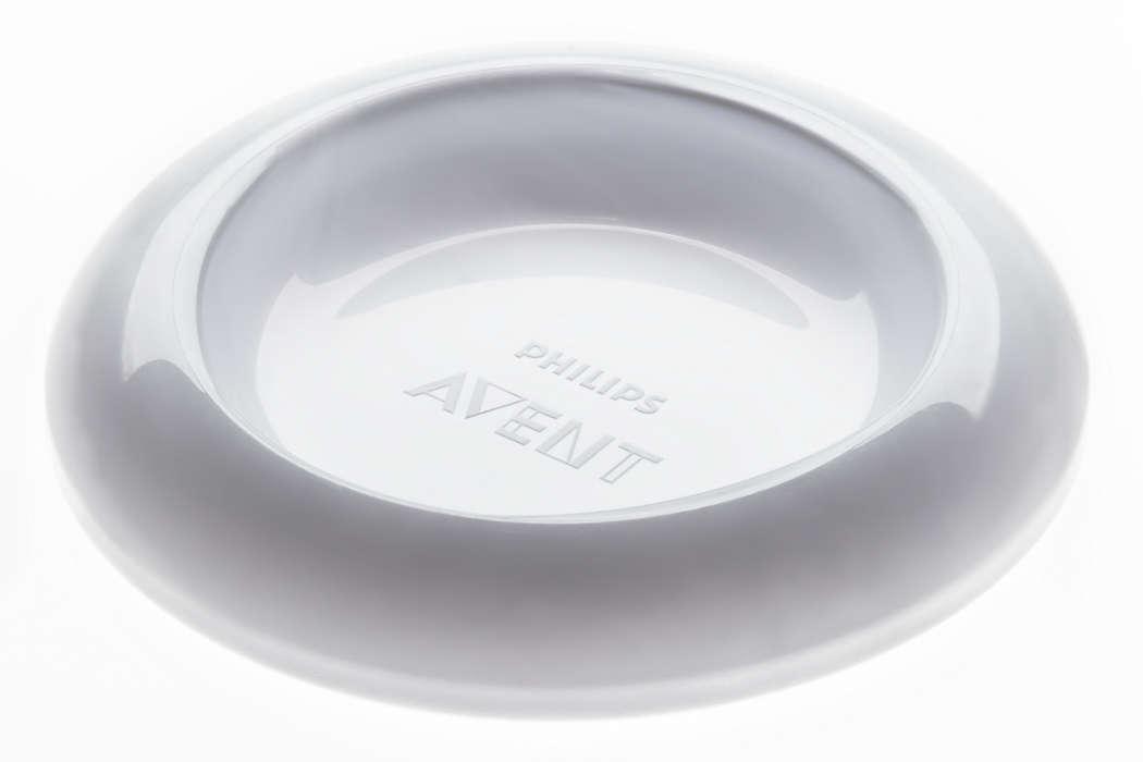 Per chiudere igienicamente la coppa del tuo tiralatte.