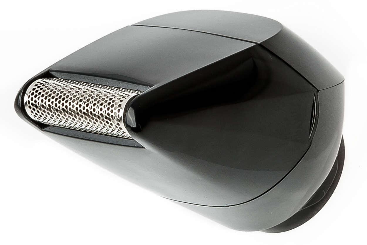 Scheerhoofd met scheerblad voor body groomer
