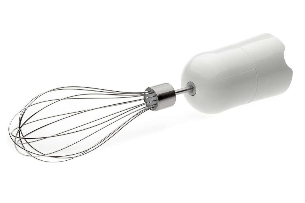 zum Austausch des derzeit verwendeten Schneebesen-Zubehörs