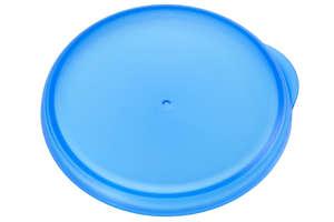 blauw deksel voor drinkbeker