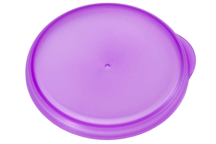 Purple cap to seal your grown up cup