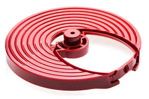 Support de disque, rouge