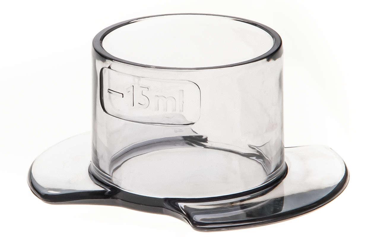 para substituir seu copo medidor atual
