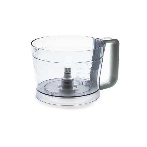Recipiente para robot de cocina