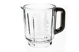Transparante glazen kan
