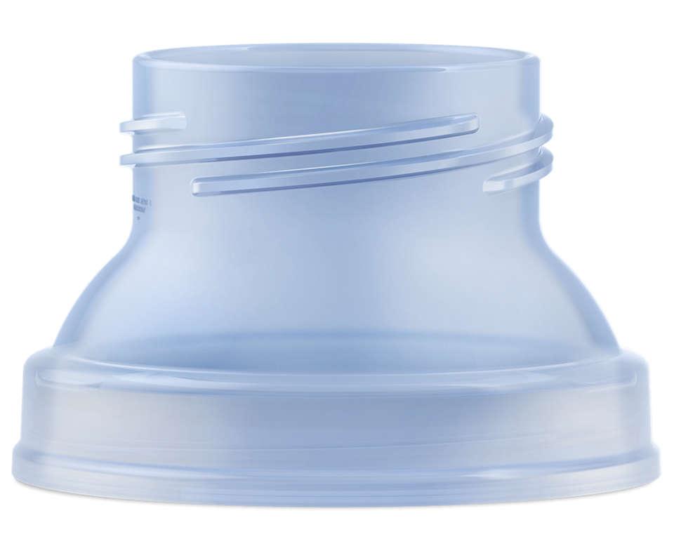 Adaptador para copo de armazenamento