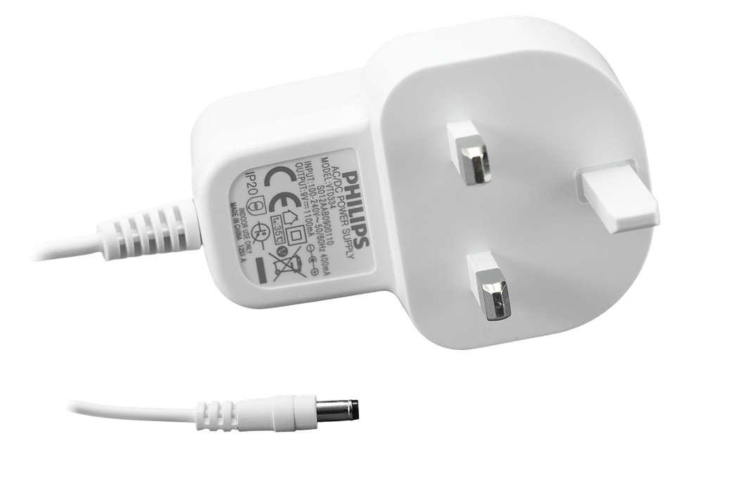 Para conectar el extractor a la corriente eléctrica.