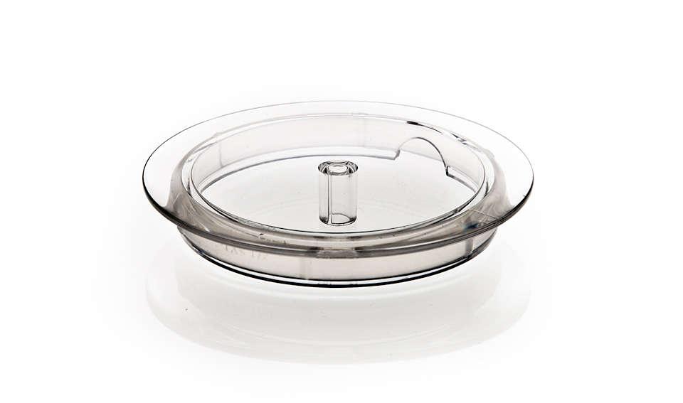 Couvercle pour mousseur à lait