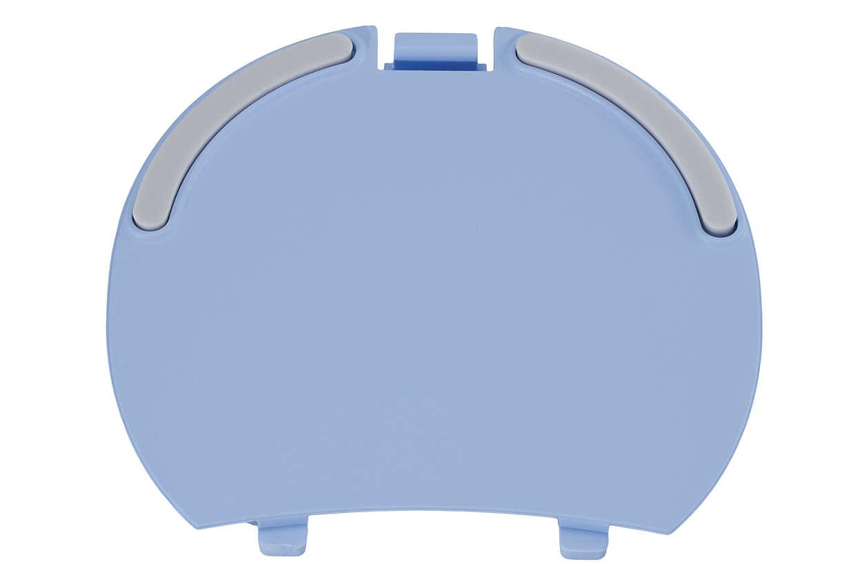 Pour refermer le compartiment batterie de l'unité-bébé