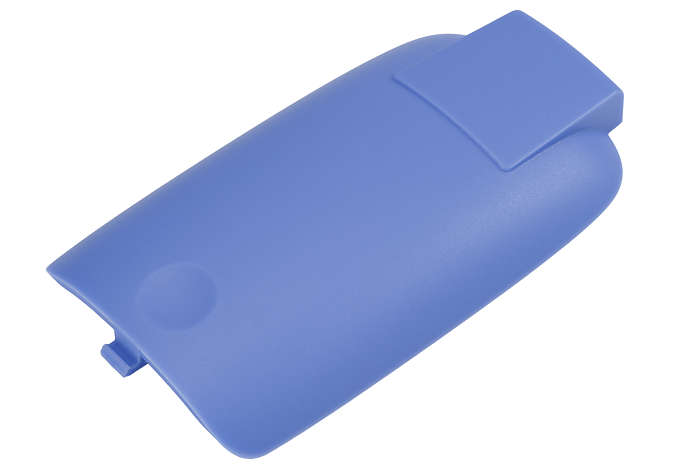 Om de batterijopening van de ouder- of babyunit af te sluiten