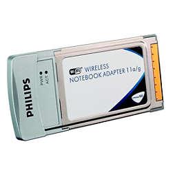 Bezdrátový adaptér k notebooku