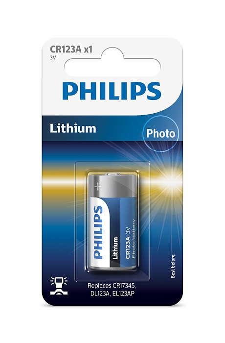 Tecnología de litio de alta calidad para tu cámara
