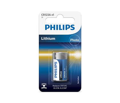 Litiumteknologi av ypperste kvalitet for kameraet