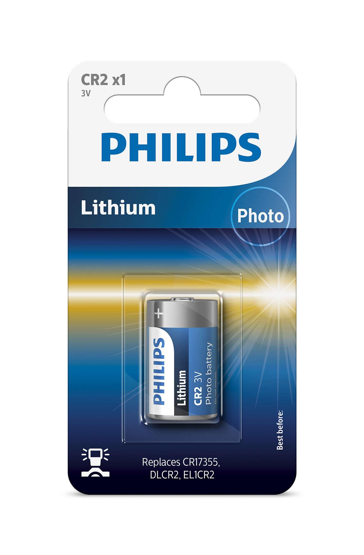 Huippuluokan litiumtekniikkaa kameraa varten