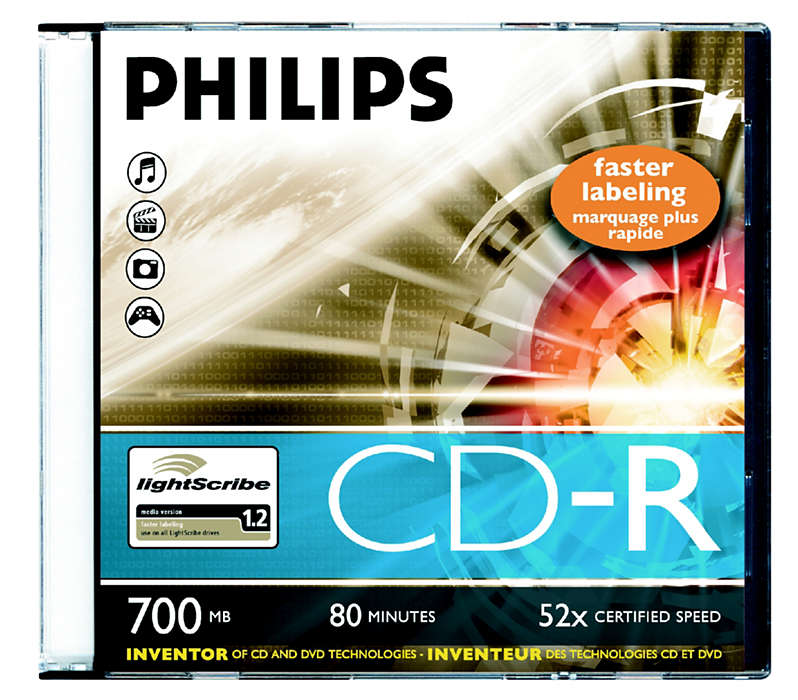 Innovator of CD and DVD technologies!