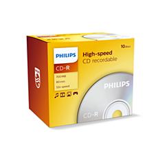 CR7D5NJ10/00 -    CD-R