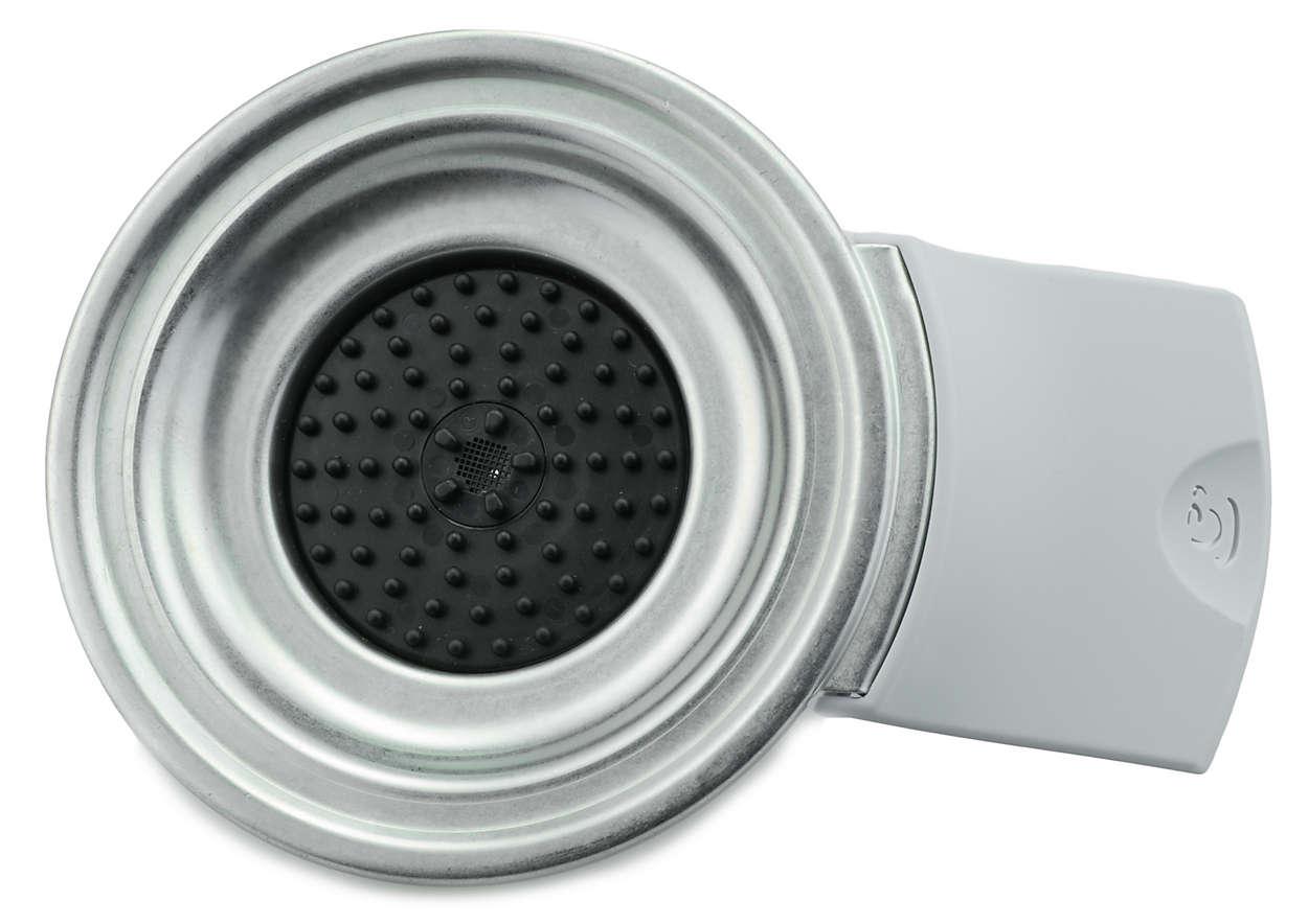 Für 1Kaffeepad in Ihrer SENSEO® Kaffeepadmaschine