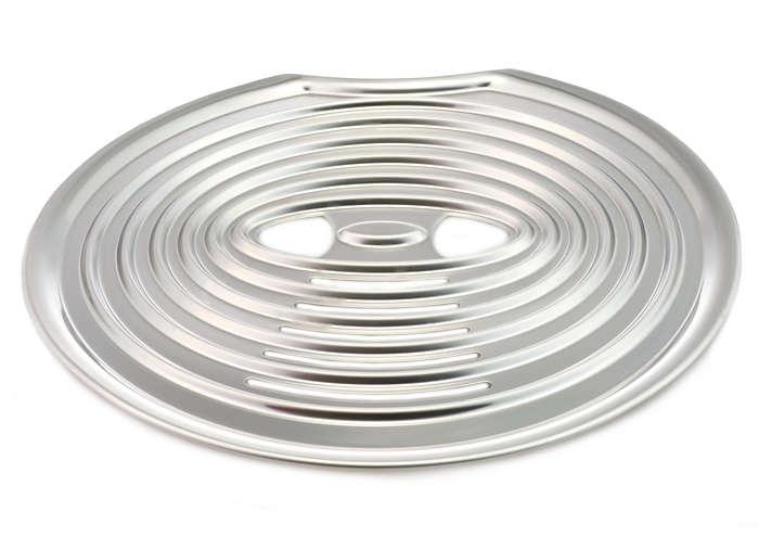 La piastra su cui riporre le tazze