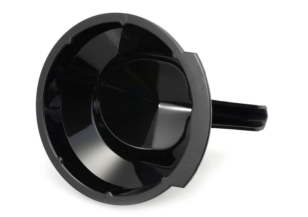 Canaliza el café hasta la taza