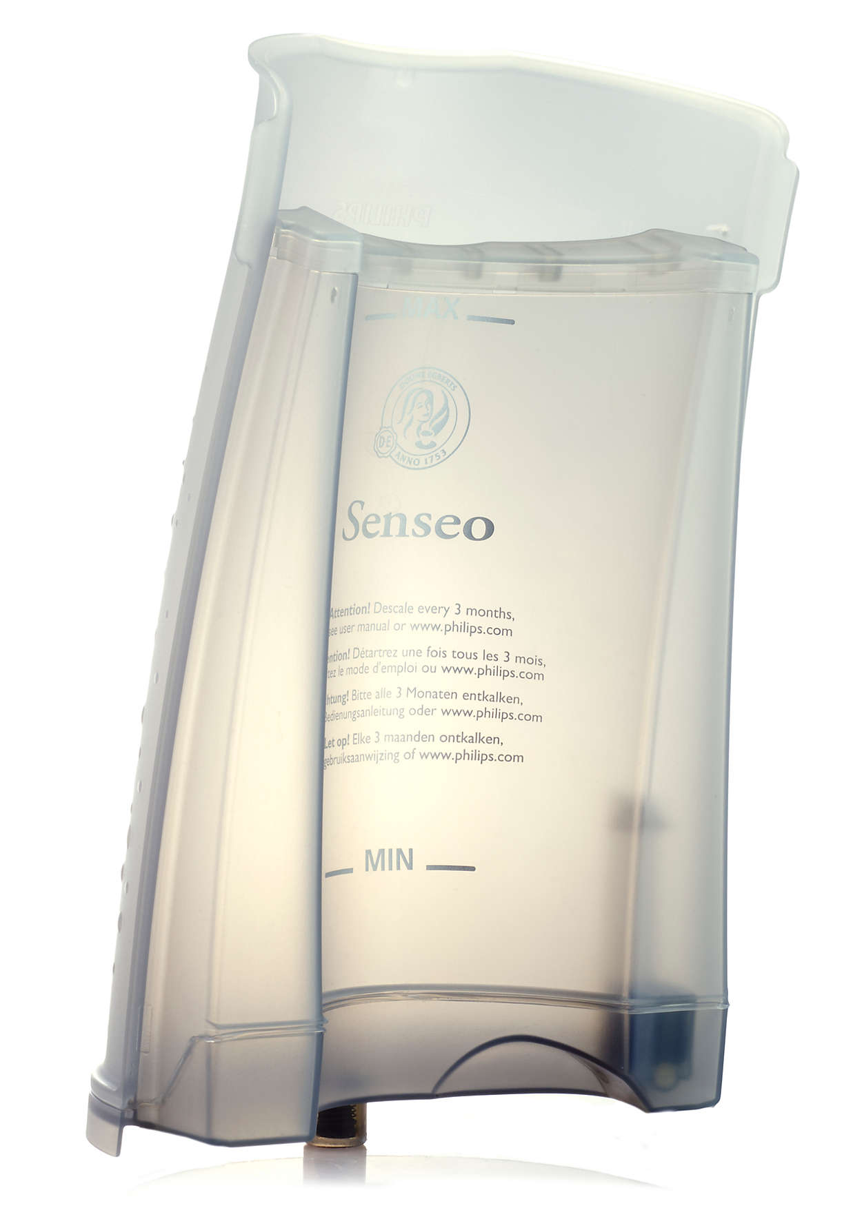Para almacenar el agua de la cafetera SENSEO®