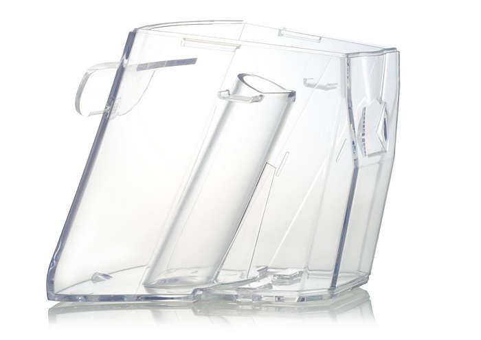 Opsamler snavset vand under rengøring med din Aqu