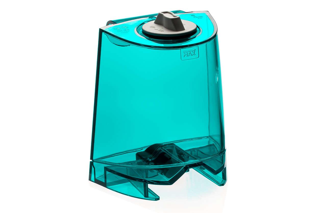 Behållare för rent vatten i Aqua Trio