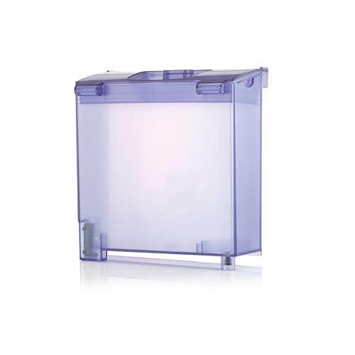 Afneembaar waterreservoir voor uw strijkijzer