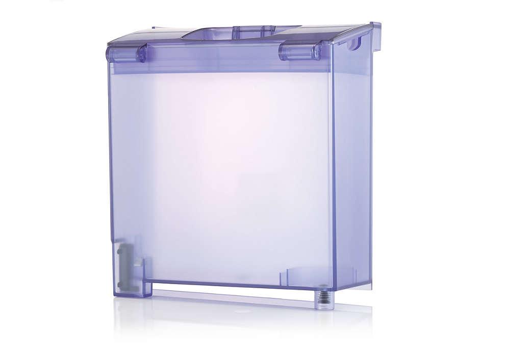 Vandtank til din Wardrobe Care