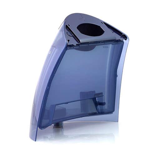 Depósito de agua desmontable para la plancha