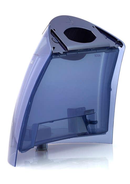 Erittäin suuri vesisäiliö PerfectCare-silitysrautaan