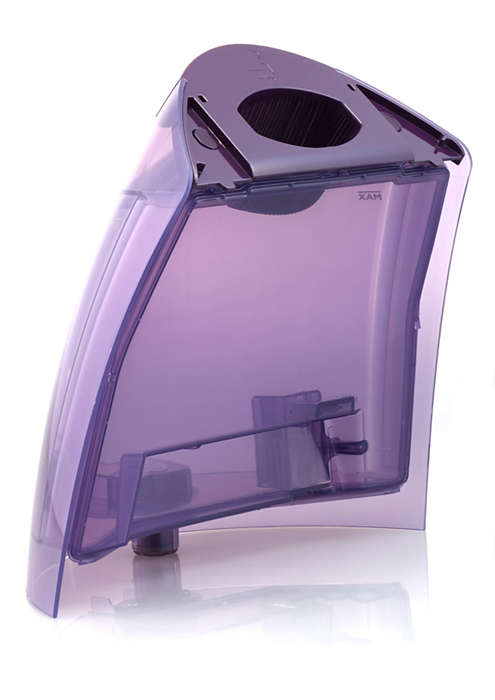Extragroßer Wasserbehälter für Ihr Kleiderpflegesystem