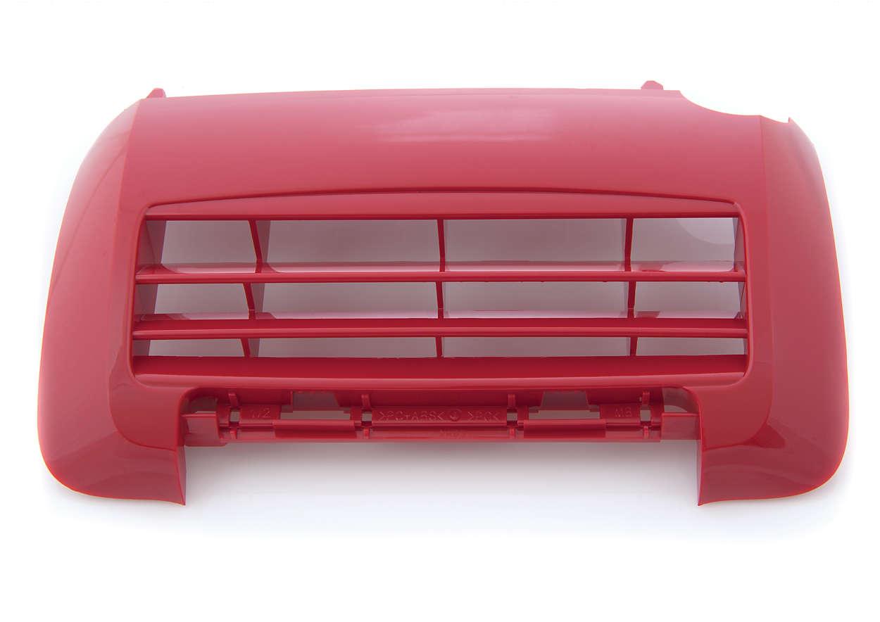 Rejilla para cubrir el filtro del aspirador