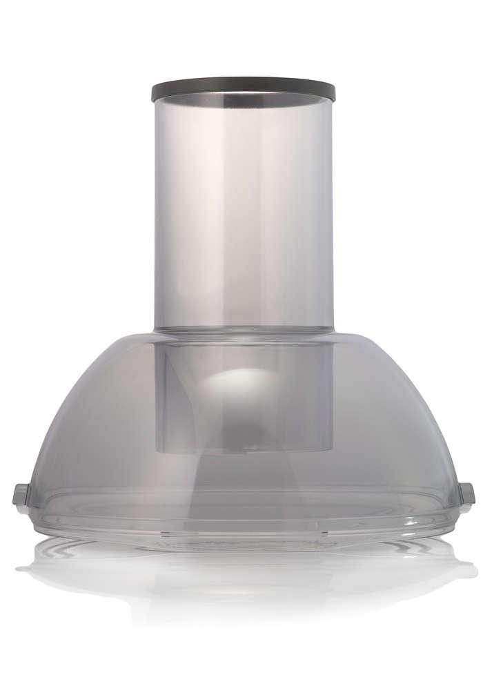 Oddělí nádobu na dužinu odšťavňovače