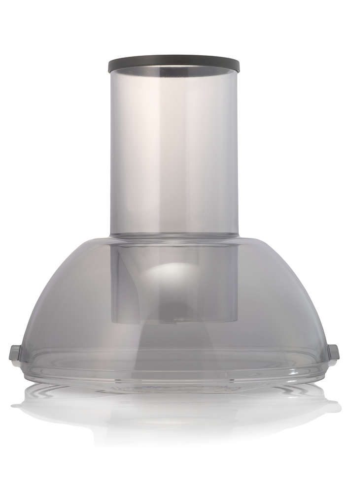 To close off the pulp container in your juicer