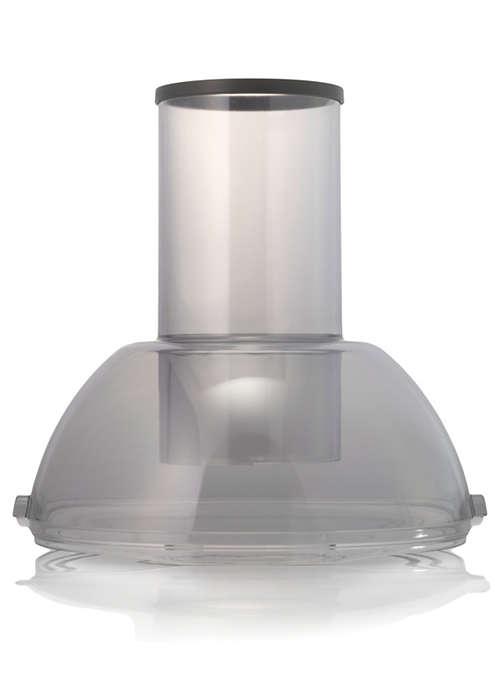 Pour fermer le réservoir à pulpe de votre centrifugeuse
