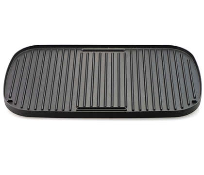 Multi-purpose platter for table grill