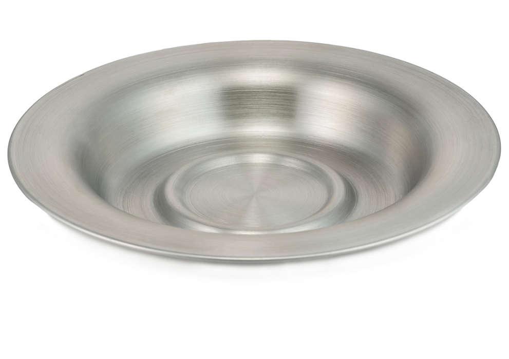 Pour recueillir les gouttes de thé du panier-filtre