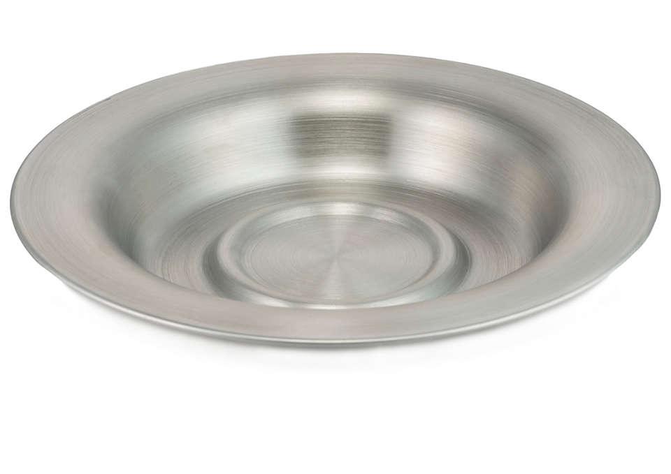 Per raccogliere il tè che fuoriesce dal cestino del filtro