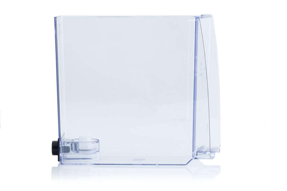 Voor het water in uw espressomachine